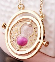 american convert - Famous Harry potter Convert horcrux Necklace Jewelry Harry potter Time axis Pendant Necklaces Fashion Sweater Chain Necklace Jewelry