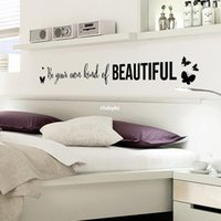 artist animals - 10pcs Manufacturers home decoration young artists bedroom bedside black English alphabet wall stickers DF5303