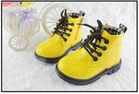 Wholesale Martin boot boy girl Autumn boots British children leather shoes children s boots cccc
