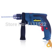 Wholesale 13mm Impact Drill Multifunctional Drill Two Hand Drill Hammer Suit Household Mini Electric Tools FR