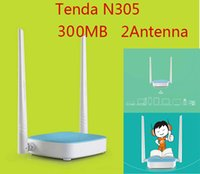 Wholesale TENDA N305 Mbps Wireless N Router WIFI Repeater Home Networking Broadband Point Ports RJ45 g b n