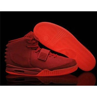 basketball signs - 2015 The latest styleTrainers Kanye West Signs Fans Air Y quot Red October quot men s Basketball Shoes Size US
