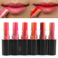 Wholesale Fashion Women Sexy Tint Bar Triple Shot Color Lipstick Cosmetic Gift Gradient Lipgloss Lip Cream Rouge