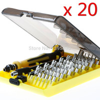 Wholesale By DHL Sets in1 Hardware Screwdriver Torx Precision Screw Driver Cell Phone Repair Tool Set Tweezers Kit