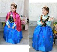 Cheap Girls Princess Elsa Party Dress Mesh Full Sleeve Dresses Fantasia Frozen Cosplay Costume For Kid Vestidos Infantis De Menina CT020