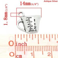 antique measuring cup - Fashion Jewelry Pendants Charm Pendants Measure Cup Antique Silver quot Scale quot Carved x14mm Mr Jewelry cup mat cup keys