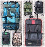 auto organiser - Car Auto Back Seat car pocket Organiser Holder Multi Pocket Holder Pouch Storage Bag Universal LJJK10