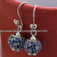 angle alphabet - Diy Jewelry Earrings Fashion Earrings Sterling Silver Sky Mosaic angle Earrings with Cz Fits European Pandora Jewelry