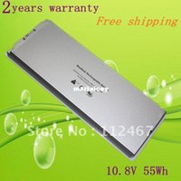 Wholesale High quality HOT wh New Laptop Battery for Apple MacBook quot Inch A1181 A1185 MA561 MA566 White