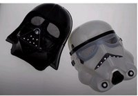Wholesale 2015 Hot Sale New Arrival Star Wars Cosplay Horror Black Mask StromTrooper Darth Vader Halloween Carnival Party Mask colors