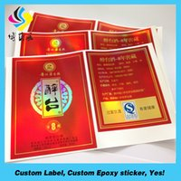Wholesale Customized Waterproof Cheap Label Sticker