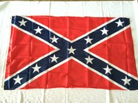 Wholesale Confederate South rebel Dixie Flag Civil war Flag Polyester Flag FT CM High quality cheap price