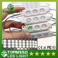 Wholesale 1 W Leds SMD Led Module Injection ABS Plastic Waterproof IP66 White Warm White Blue Green Backlight V led light