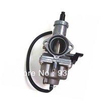 Wholesale PZ27 Carburetor mm Carb For HONDA XL hand choke lever XR200 XR200R XL200 Quads Dirt Bike ATV order lt no tra
