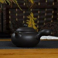 achat en gros de zisha théières yixing-Freeshipping yixing teapot pot de sable violet thé kongfu set côté mis bouilloire Zisha théière maison faire un outil de thé bon cadeau 150cc