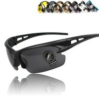 Wholesale Free delivery drivers night vision goggles sports glasses sunglasses bicycle glasses lens