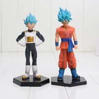 Wholesale 50pcs cm Dragon Ball Z Resurrection of F Son Gokou Vegeta PVC Action Figure Collectible Model Toy