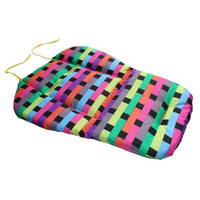 amazing seat cushion - Amazing Baby Multi color Grid Stroller Cushion Child Cart Seat Cushion Cotton Thick Mat