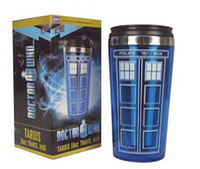 stainless steel travel mug - HOT Doctor Who mug Doctor who Travel Mug TARDIS oz Travel Mug Official