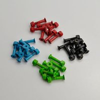 skateboard truck - Skateboard Longboard Trucks Part Hardware Screws Bolts Set of pc quot Black