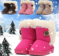 Wholesale Please note the size before purchasing New Style Winter shoes Children s Boots Snow Boots for Boy and Girl Shoes No fashion