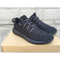 Cheap New Fashion Kanye West Yeezy Boost 350 Running Shoes yeezy 350 boost Pirate Black Classic Grey 1:1 Version Supply With Box