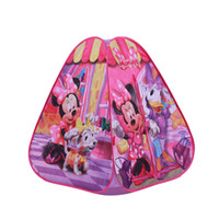 Wholesale Retail Anime cartoon star waw mickey thomas game house children Kids Play Tent toy baby beach tent indoor and outdoor tent christmas gift