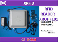 access application - RFID UHF Reader US MHZ Integrated Passive Long Reading Distance Reader for Parking access control application High quality set Free Ship
