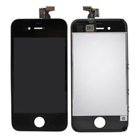 Wholesale Cell Phone Parts Black Cell Phone Touch Panels Digitizer Assembly For iPhone Minotor LCD Cell Phone Accessory Repair Parts