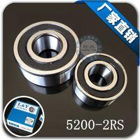 angular contact ball bearing - 5pcs high speed RS x30x14 double row angular contact ball bearing RS mm