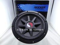 kicker subwoofer - car K kicker s10c double magneticsteel dual voice coil bass subwoofer audio