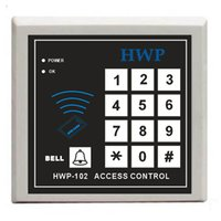 Panel HWP-D102 RFID NEW RFID Proximity Door Access Control System With Master Cards and Connecting Access Control Reader ID EM Keypad