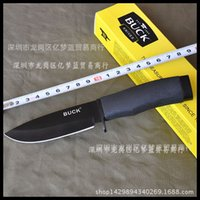 barker steel - 2016 Hot Sale Real Barker Oscillating Tool Saw Wood Saw Blade Factory Outlets Buck Death Survival Knife Straight Outdoor Camping Hunting