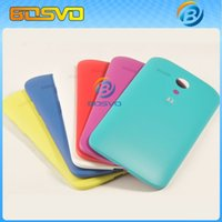 Wholesale 100 Brand new replacement for Motorola Moto G XT1032 XT1033 battery cover rear door back housing one piece
