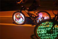 usb rgb - outdoor rgb led light diy full color rechargable batterie wheel rim usb cycling velo