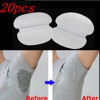 Wholesale 20pcs Absorbing Sweat Underarm Pads Deodorant Armpits Khan Anti perspirant Men Women Tape Stickers