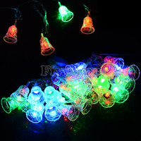 best us party decoration - New Best Selling M LED Small Bell String Fairy Light Christmas Xmas Wedding Party LED Decoration V US Plug