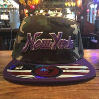 based snapback - Camouflage men women snapback New York sport brand base ball cap high quality hip hop adjustable bone hats
