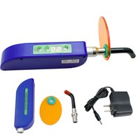 Wholesale New Arrival Upgraded Dental Wireless Cordless LED Cure Curing Light Lamp mw for Dentist Blue Color