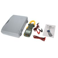 auto meters power - MASTECH MS2201 True RMS Auto Range Digital Power Clamp Meter Wattmeter Power Factor Meter Ammeter Voltmeter
