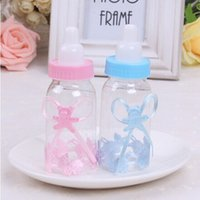 baby bottle favours - Baby Candy Box Bottle Baby Shower Baptism Party Favours Christening K1018T