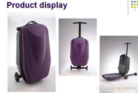 Wholesale Scooter Suitcase Scooter Package Luggage Box Scooter Cabin Approved Travel Trolley in scooter luggage bag FREE TO WORLD WIDE