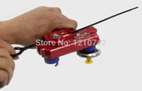 Wholesale One Piece Double Tops Launcher For Beyblade Top Toy Novelty New Beyblade Dual Launcher For Spin Top Toy