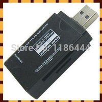 Wholesale USB Multi All In One Memory Card Reader Mini SD RS MMC TF Micro MS M2 VgK