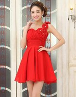 Wholesale Gown wedding dress bridesmaid dress red toast suit the Chinese dress evening dress bridesmaids dress Bridesmaid dresses