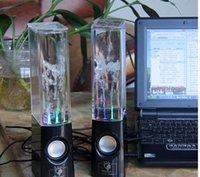 Cheap Hot Sales RainDance Fountain Speaker New Brand Dancing Water Speaker Active Portable Mini USB LED Light Speaker For PC MP3