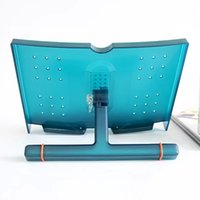 Wholesale Actto Green Portable Reading Stand Book Stand Document Holder Angle Adjustable