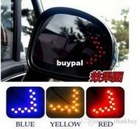 best signal mirror - Best price SMD LED Arrow Panel For Car Rear View Mirror Indicator Turn Signal Light pcsA1A