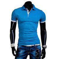 big golf shirts - Polos Hombre Camisa Solid Men Shirt Short Sleeve Collar Brand Big Horse Mens Golf Shirts Summer Style Hot Sale New