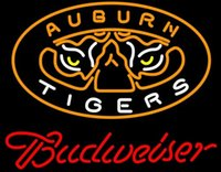 auburn tigers basketball - NCAA College Basketball Auburn Tigers Budweisers Neon Sign Lighting Real Glass Tube Sign Sport Team Sign Game Logo Advertisement quot X18 quot
